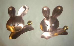 ウサギの動き・・・