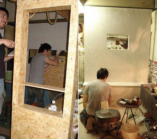 工房の改装が始まりました!
